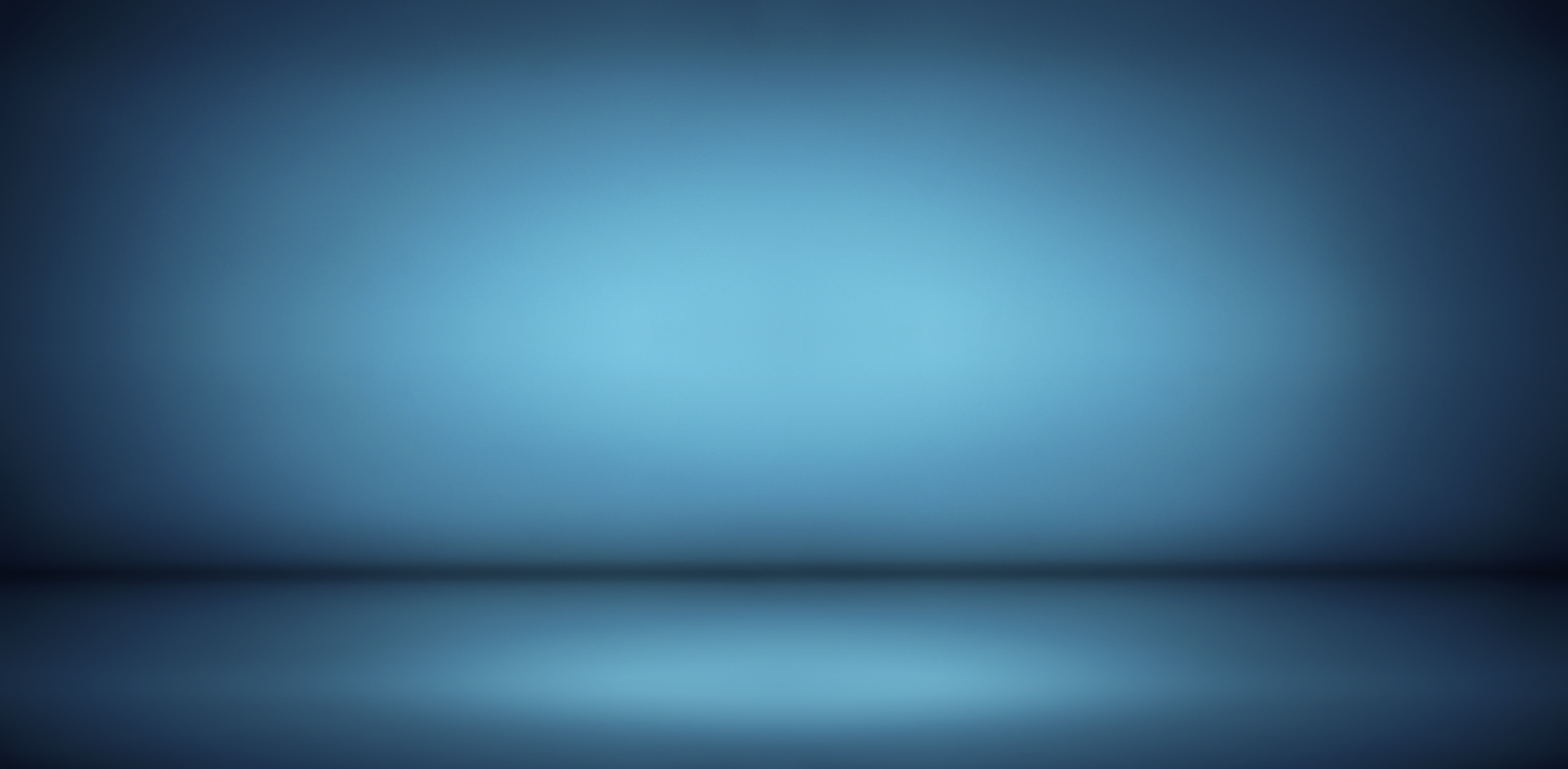blue gradient studio and empty room background, can be used